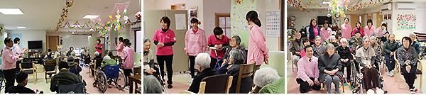 デイサービス 「八女津媛(やめつひめ)」お誕生日会
